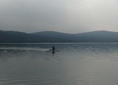 Ivan in lake